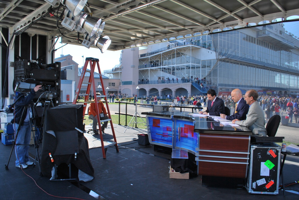 ESPN shoot on mobile stage