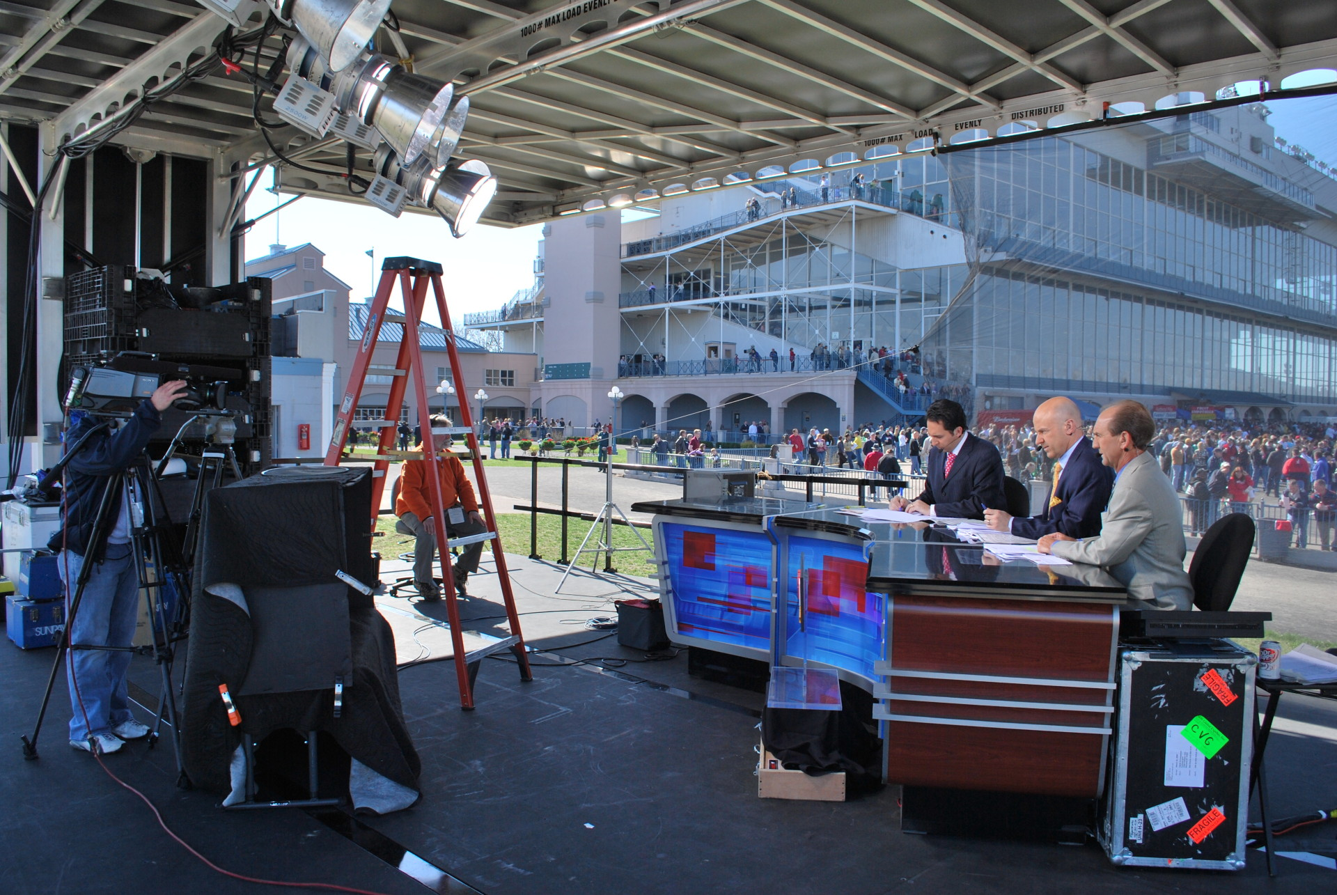 Mobile Stage ESPN Shoot