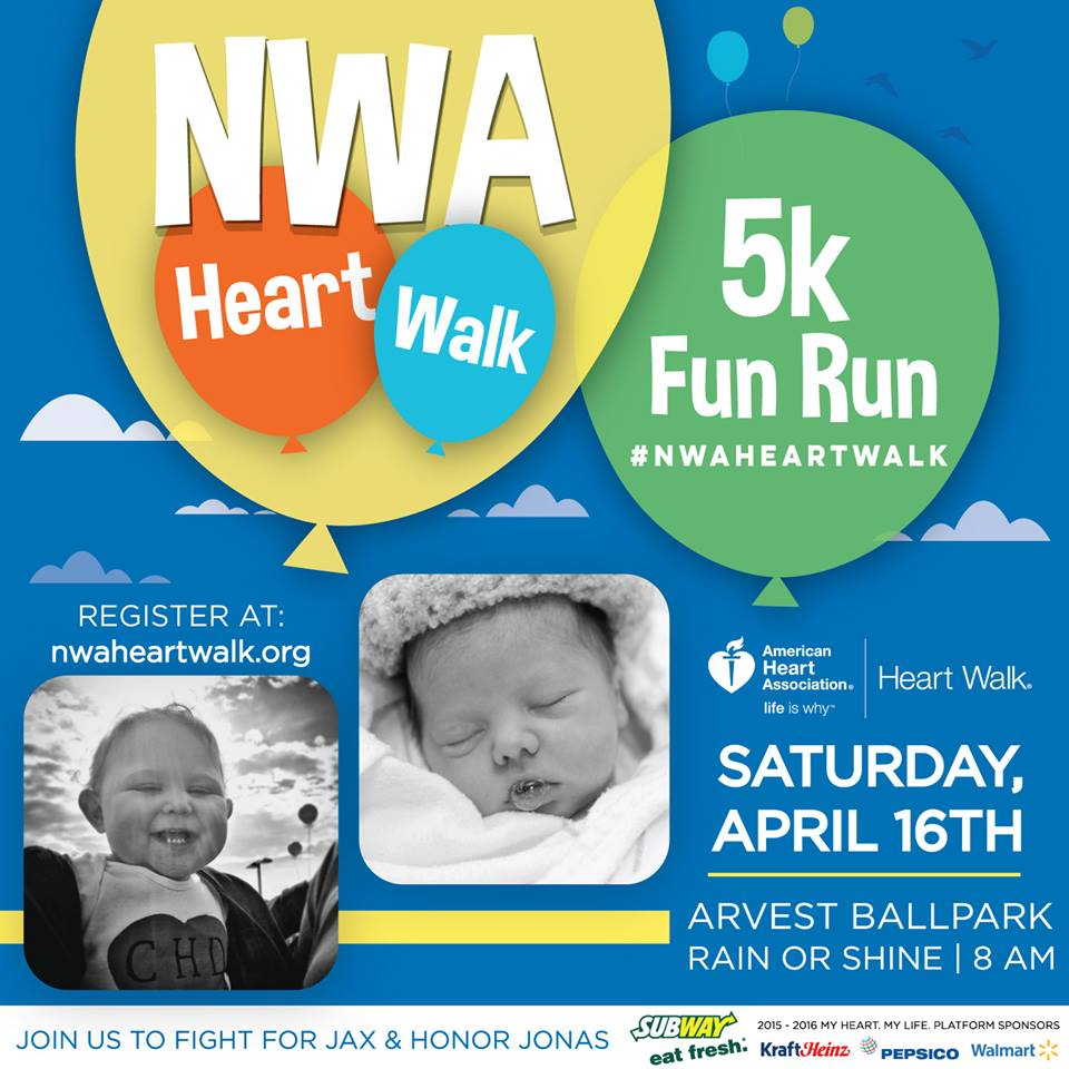 American Heart Association Northwest Arkansas Heart Walk