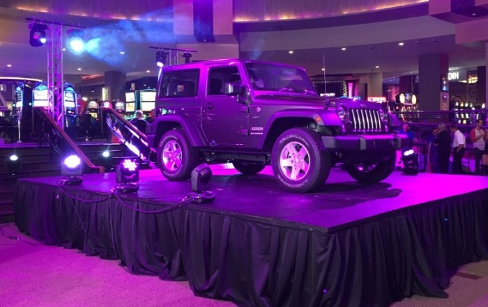 Hard Rock Jeep Stage